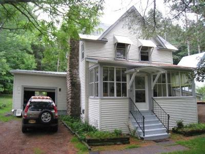 Saranac Lake NY Single Family Home For Sale: $119,500