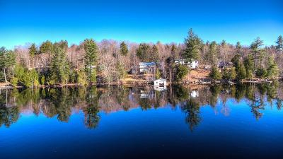Saranac Lake Single Family Home For Sale: 153 Riverside Drive