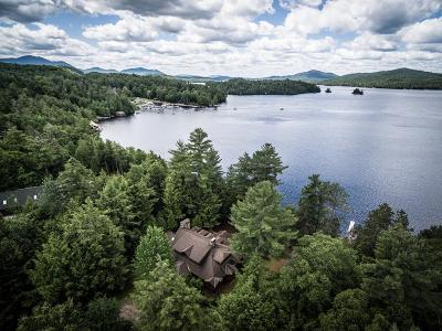 Saranac Lake NY Single Family Home For Sale: $2,100,000