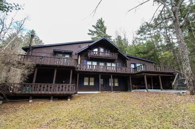Elizabethtown, Jay, Keene, Keene Valley, Lake Placid, Saranac Lake, Westport, Wilmington, Loon Lake, Rainbow Lake, Tupper Lake Single Family Home For Sale: 92 Signor Drive