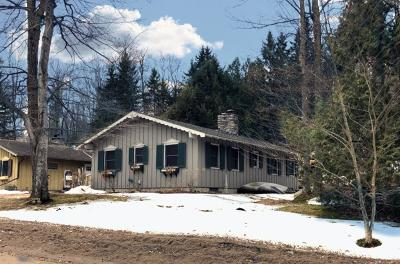 Lake Placid NY Single Family Home For Sale: $485,000