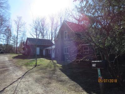Saranac Lake NY Single Family Home For Sale: $175,000