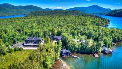 Lake Placid, Saranac Lake, Tupper Lake Single Family Home For Sale: 132-140 Peninsula Way