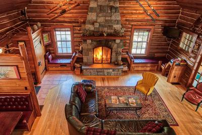 Bloomingdale, Lake Placid, North Elba, Ray Brook, St Armand, Brighton, Franklin, Gabriels, Harrietstown, Lake Clear, Lake Titus, Loon Lake, Onchiota, Paul Smiths, Rainbow Lake, Santa Clara, Saranac Inn, Saranac Lake, Upper Saranac Lake, Vermontville Single Family Home For Sale: 140 Peninsula Way