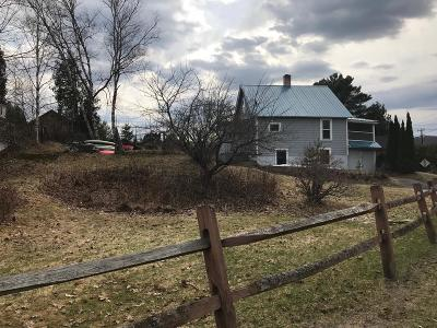 Saranac Lake NY Single Family Home For Sale: $129,000