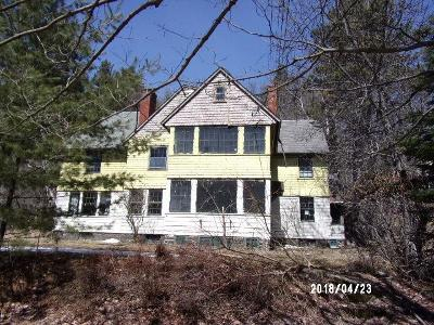 Saranac Lake NY Single Family Home For Sale: $124,800