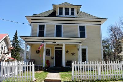 Saranac Lake NY Single Family Home For Sale: $210,000