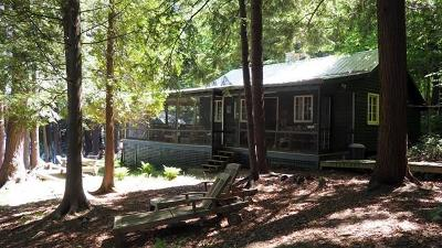 Lake Placid, Saranac Lake, Tupper Lake Single Family Home For Sale: 4 Bluff Island