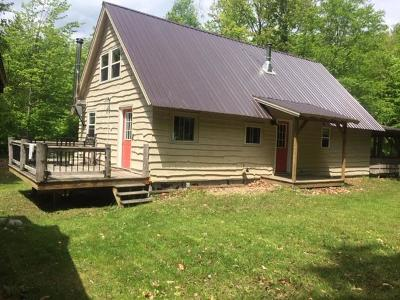 Loon Lake Single Family Home For Sale: 74 Bass Lake Road