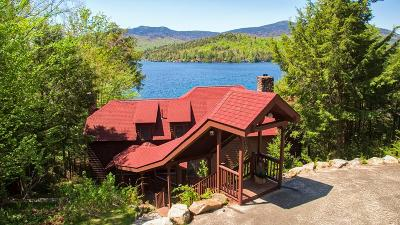 Bloomingdale, Lake Placid, North Elba, Ray Brook, St Armand, Brighton, Franklin, Gabriels, Harrietstown, Lake Clear, Lake Titus, Loon Lake, Onchiota, Paul Smiths, Rainbow Lake, Santa Clara, Saranac Inn, Saranac Lake, Upper Saranac Lake, Vermontville Single Family Home For Sale: 153 Ruisseaumont Way