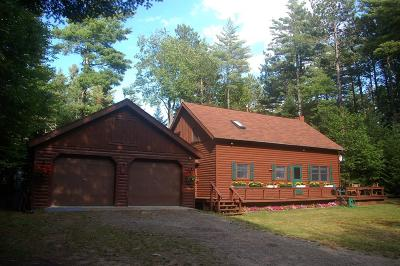 Rainbow Lake NY Single Family Home For Sale: $175,000