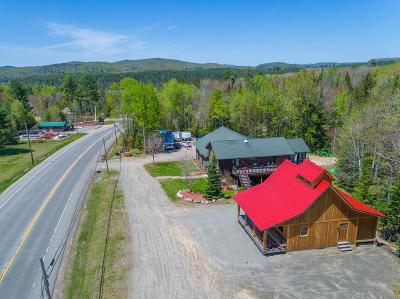 Ray Brook, Saranac Lake Commercial For Sale: 889 Nys Route 86