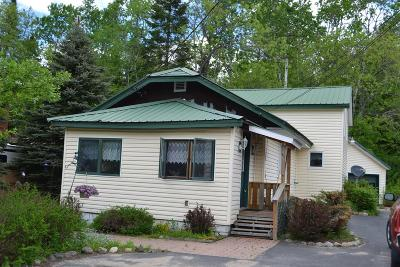 Lake Placid NY Single Family Home For Sale: $175,000