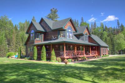 Lake Placid, Saranac Lake, Tupper Lake Single Family Home For Sale: 118 River Rd