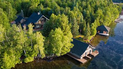 Bloomingdale, Lake Placid, North Elba, Ray Brook, St Armand, Brighton, Franklin, Gabriels, Harrietstown, Lake Clear, Lake Titus, Loon Lake, Onchiota, Paul Smiths, Rainbow Lake, Santa Clara, Saranac Inn, Saranac Lake, Upper Saranac Lake, Vermontville Single Family Home For Sale: 49 Sand Point Way