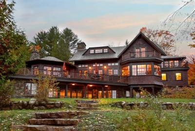 Lake Placid NY Single Family Home For Sale: $5,895,000