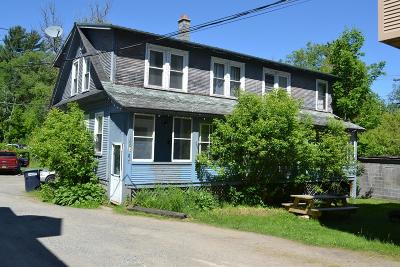 Saranac Lake NY Multi Family Home For Sale: $135,000