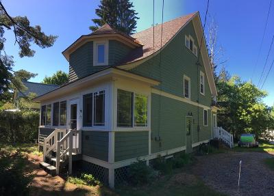 Saranac Lake NY Single Family Home For Sale: $239,000
