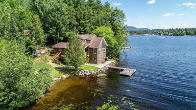 Lake Placid, Saranac Lake, Tupper Lake Single Family Home For Sale: 221 Riverside Drive
