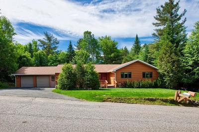 Lake Placid NY Single Family Home For Sale: $396,000