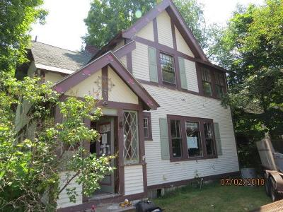 Saranac Lake NY Single Family Home For Sale: $44,900