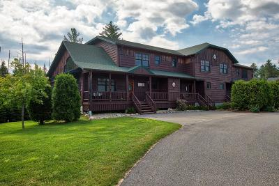 Lake Placid Condo/Townhouse For Sale: 4 Rustic Way