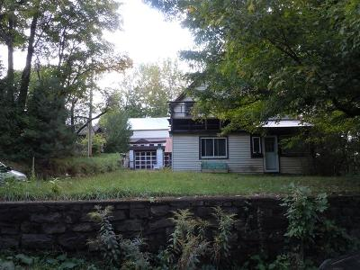 Saranac Lake NY Single Family Home For Sale: $149,950