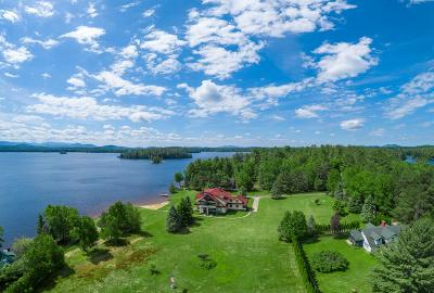 Upper Saranac Lake NY Single Family Home For Sale: $2,199,000