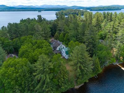 Upper Saranac Lake NY Single Family Home For Sale: $385,000