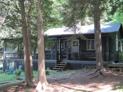Elizabethtown, Jay, Keene, Keene Valley, Lake Placid, Saranac Lake, Westport, Wilmington, Loon Lake, Rainbow Lake, Tupper Lake Single Family Home For Sale: 4 Bluff Island