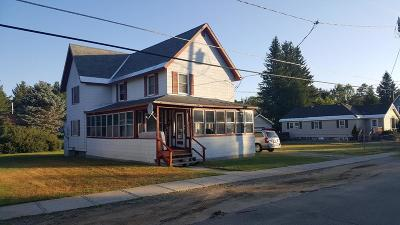 Tupper Lake NY Multi Family Home For Sale: $62,500