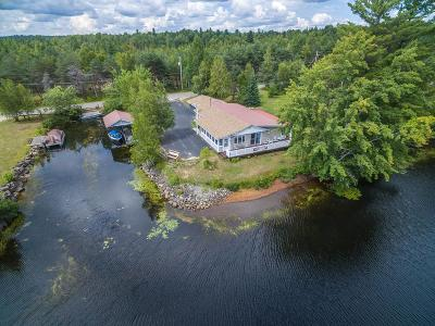 Lake Placid, Saranac Lake, Tupper Lake Single Family Home For Sale: 79 River Road