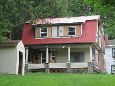 Saranac Lake NY Single Family Home For Sale: $79,500