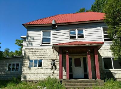 Saranac Lake NY Single Family Home For Sale: $135,000