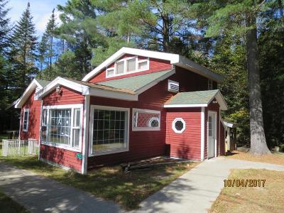 Rainbow Lake Single Family Home For Sale: 651 Jones Pond Rd
