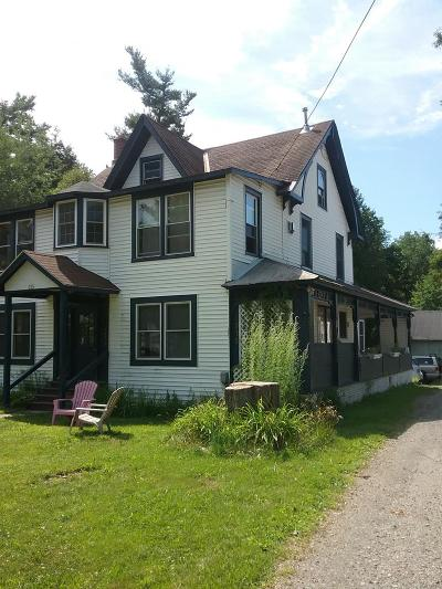 Saranac Lake NY Multi Family Home For Sale: $205,000