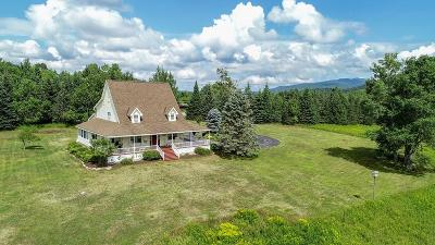Lake Placid Single Family Home For Sale: 549 Averyville Lane