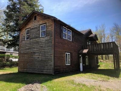 Saranac Lake NY Single Family Home For Sale: $99,900