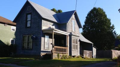 Malone Single Family Home For Sale: 9 Grove Street