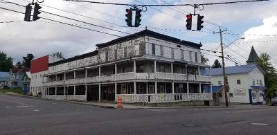Essex County, Franklin County Commercial For Sale: 2 Depot St