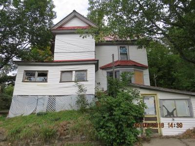 Saranac Lake NY Single Family Home For Sale: $27,000