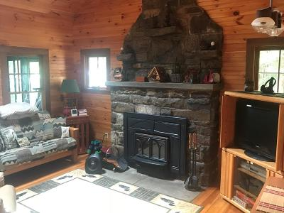 Lake Placid, Saranac Lake, Tupper Lake Single Family Home For Sale: 3 Lake Simond North (Ba)