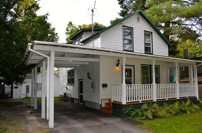 Lake Placid NY Single Family Home For Sale: $295,000