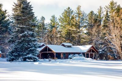 Lake Placid NY Single Family Home For Sale: $825,000