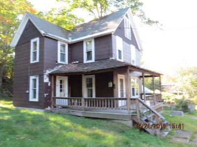 Saranac Lake NY Single Family Home For Sale: $25,000