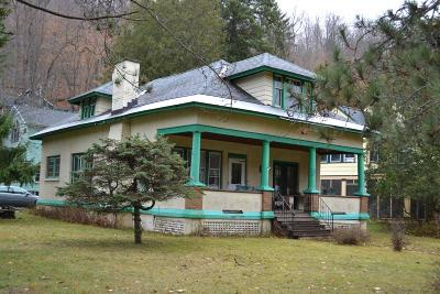 Saranac Lake Single Family Home For Sale: 93 Old Military Rd