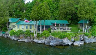 Elizabethtown, Jay, Keene, Keene Valley, Lake Placid, Westport, Wilmington, Loon Lake, Rainbow Lake, Saranac Lake, Tupper Lake Single Family Home For Sale: 88 Presbury Point Way
