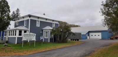 Essex County, Franklin County Commercial For Sale: 6340 State Route 374
