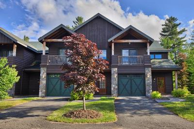 Lake Placid NY Condo/Townhouse For Sale: $525,000