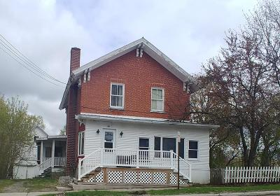Malone Single Family Home For Sale: 20 Webster St.